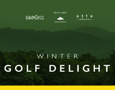 WINTER GOLF DELIGHT