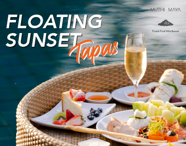 FLOATING SUNSET TAPAS